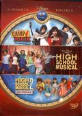 Camp Rock / High School Musical 1+2 3DVD