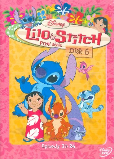 lilo and stitch complete series dvd