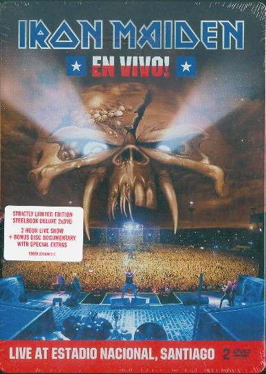 Iron Maiden - En Vivo: Live 2011 (LIMITED) 2DVD