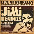 HENDRIX JIMI: LIVE AT BERKELEY (180 GRAM) - 2LP
