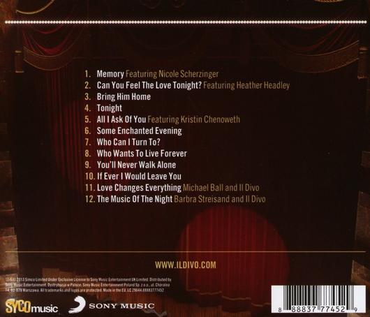 V na hudba dvdbest dvd cd blu ray a lp shop - Il divo bring him home ...