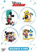 Disney Junior kolekce 4DVD /DISNEY/
