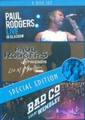 Rodgers Paul / Bad Company - Live in Glasgow / Live at Montreux 1994 / Live at Wembley (3DVD)