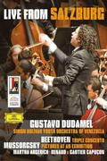 Beethoven / Mussorgsky - Triple Concerto Op.56 / Pictures at an Exhibition (Simon Bolivar Youth Orchestra of Venezuela, Dudamel)