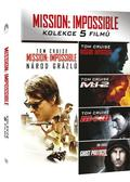 Mission: Impossible kolekce I. - V. 5DVD