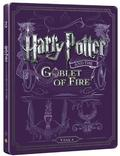 Harry Potter a Ohnivá čaša BD+DVD bonus (steelbook) BLU-RAY