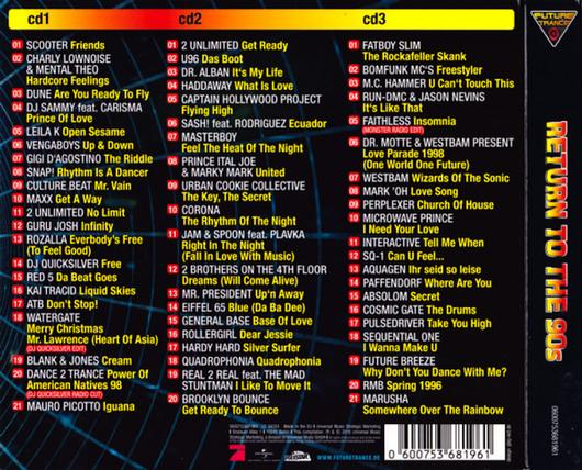 FUTURE TRANCE RETURN TO THE 90S 3CD