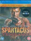 Spartacus: Vengeance, the complete 2nd Series 3BRD BLU-RAY /IMPORT/