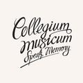 COLLEGIUM MUSICUM: SPEAK MEMORY (180 GRAM) - 2LP