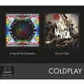 COLDPLAY - A HEAD FULL OF DREAMS / VIVA LA VIDA (2CD)