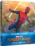 Spider-Man: Homecoming (3D+2D) (steelbook) BLU-RAY