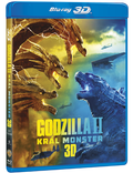 Godzilla II Král monster (3D+2D) BLU-RAY