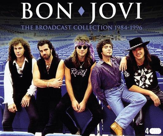 BON JOVI - THE BROADCAST COLLECTION 1984-1996 (4CD)